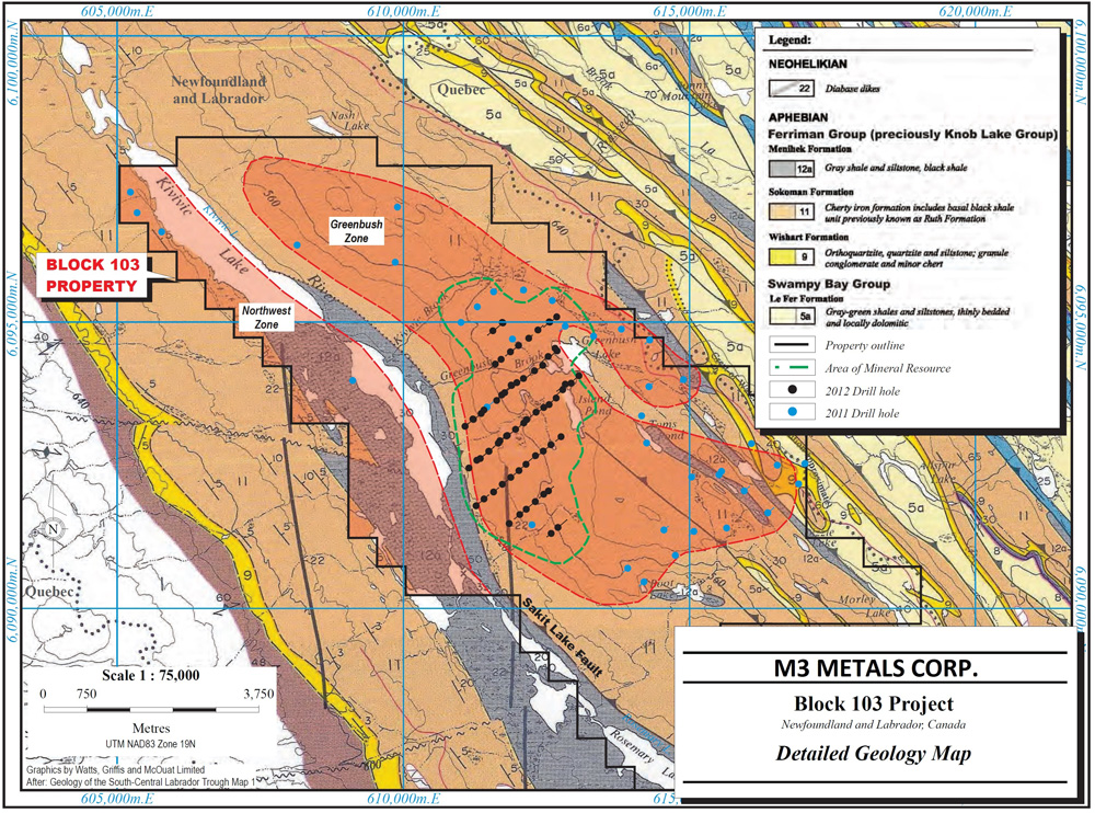 B103 Property Geology